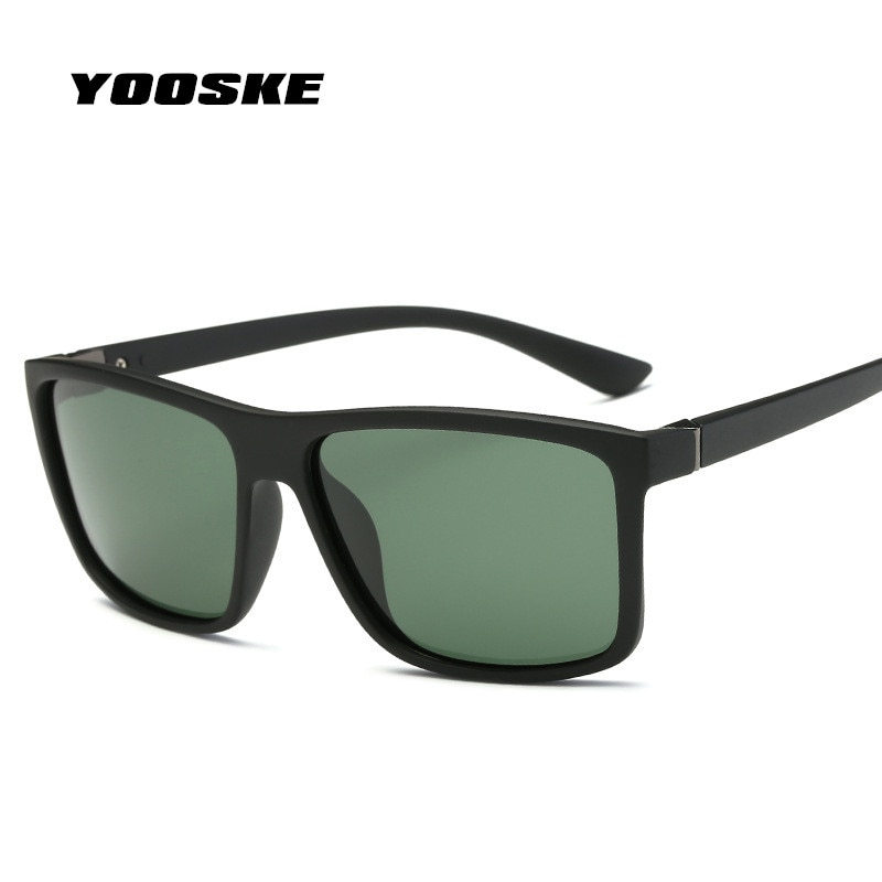 YOOSKE New Men Polarized Sunglasses For Driver Safety Driving Protect Eye Glasses Mens Sun Glasses Popular Brand Designer