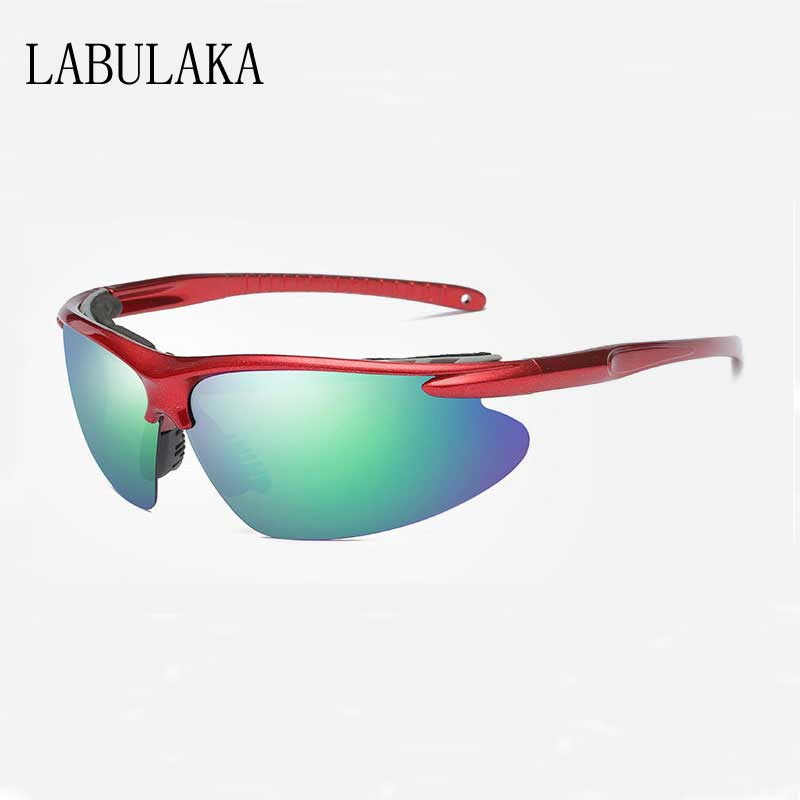 Mountaineering Sunglasses Men 2018 Polarized UV400 Protection Sun glasses Outdoor Sports Eyewear Color Coating Shades Glasses