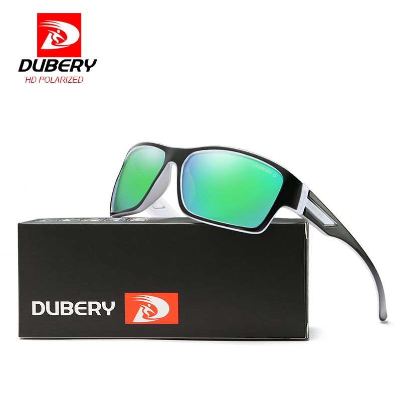 2018 Hole Sale DUBERY Polarized Sunglasses Men's Vintage Male Colorful eyeglasses Sunglasses Fashion Brand Mga salaming pang-ara