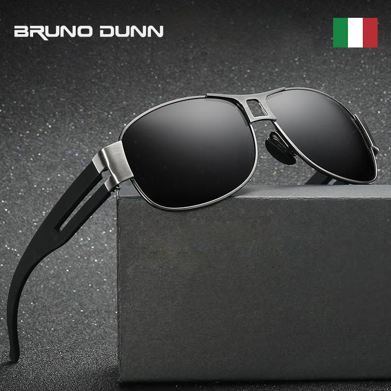 Bruno Dunn Sunglasses Men polarized Mercedes Brand Designer Sun Glasses For Male UV400 Sunglases Lentes De Sol Occhiali Da Sole