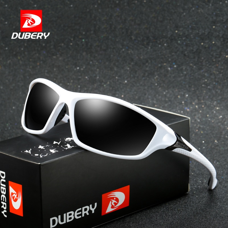 DUBERY Polarized Sunglasses Mens Pilot Sun Glasses For Men Brand Designer Women Driving UV400 Goggles Shades Oculos De Sol
