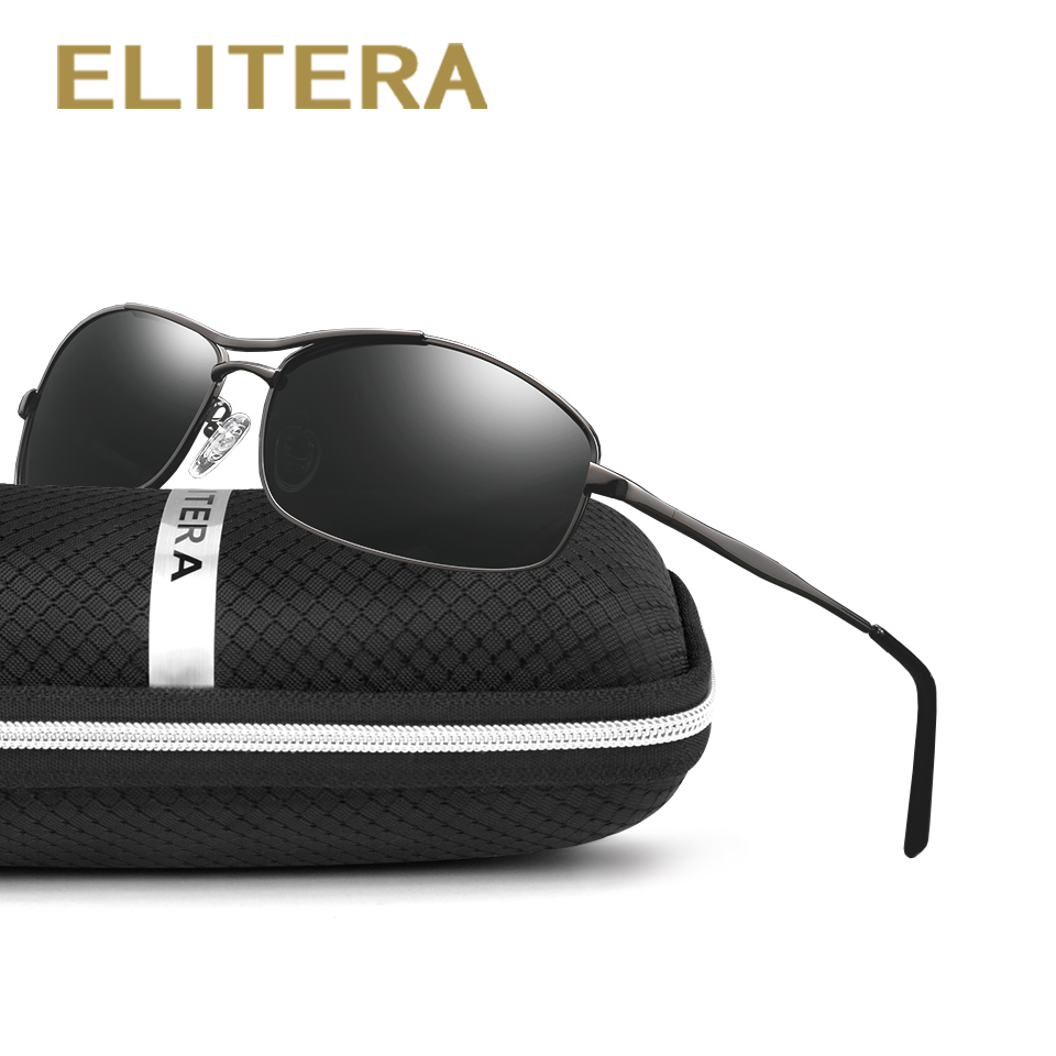 ELITERA Brand Designer New Polarized Sunglasses Men Fashion Male Eyewear Sun Glasses Travel Oculos Gafas De Sol
