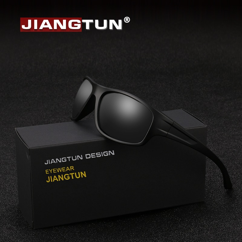 JIANGTUN 2018 Latest Sport Sunglasses Men Polarized UV400 Hiking Driving Sun Glasses Outdoor Shades Unisex Oculos Gafas JT8702