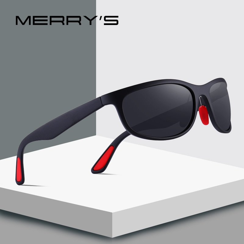 MERRY'S DESIGN Men Polarized Sunglasses For Driving Outdoor Sports Goggle Glasses Ultra-light Series UV400 Protection S'8136