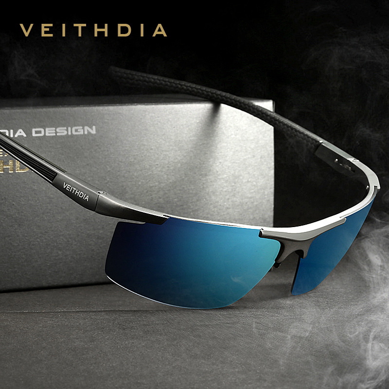 VEITHDIA Sunglasses Men Brand Design Polarized Male Sun Glasses With Original Box Eyeglasses gafas oculos de sol masculino 6588