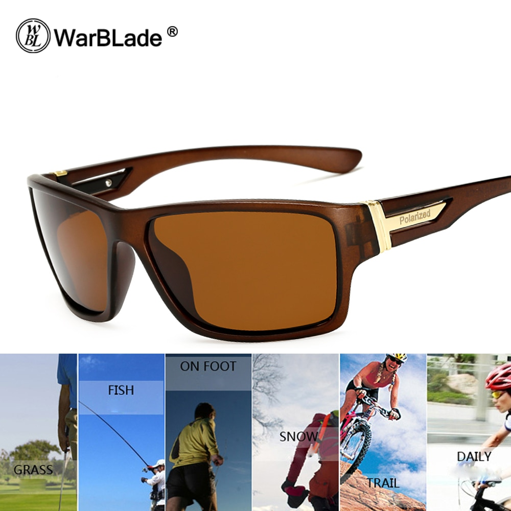 WarBLade Brand Promote Polarized Sunglasses New 2018 Sunglasses Men Glasses Polaroid Lens Gafas De Sol UV400 Points